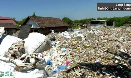 Nơi rác thải được ví như kho báu ở Indonesia