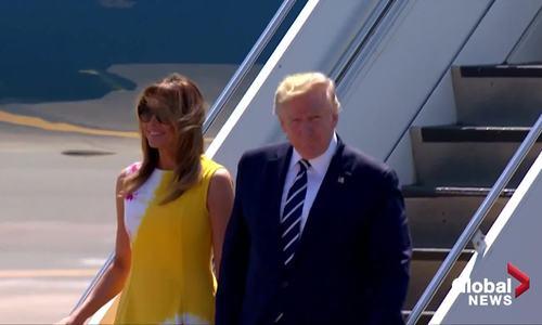 Đệ nhất phu nhân Mỹ diện loạt váy hàng hiệu tại G7