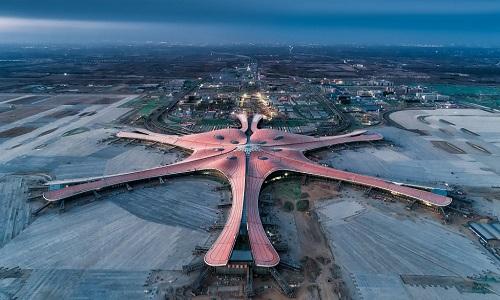 Sân bay lớn nhất thế giới thử nghiệm bay với tầm nhìn kém