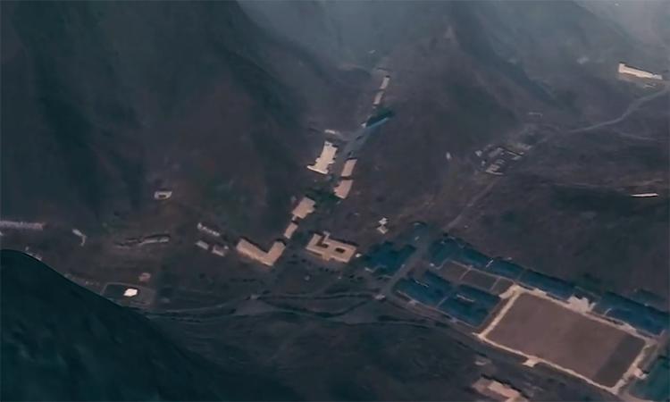 Căn cứ tên lửa giấu trong núi của Triều Tiên