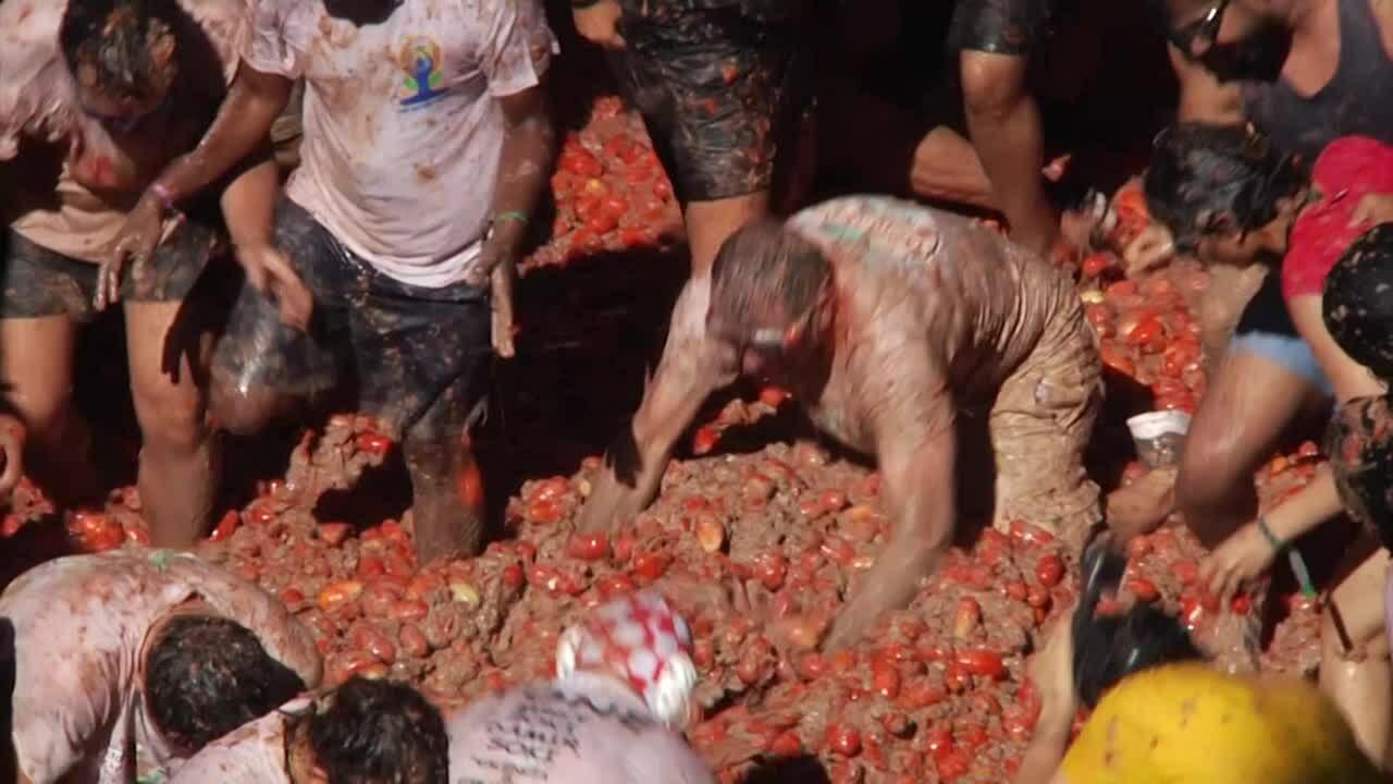 Lễ hội ném cà chua ở Tây Ban Nha