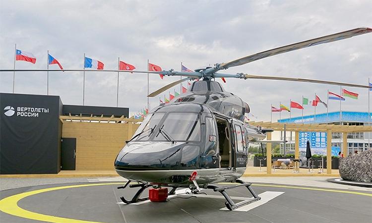 Trực thăng Nga với nội thất chuyên xa tổng thống