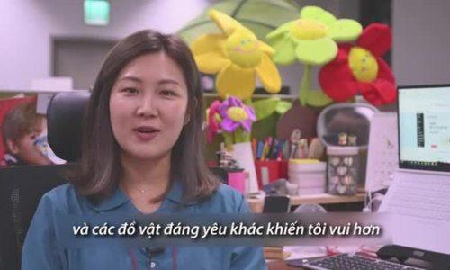 Xu hướng 'tô điểm' bàn làm việc của dân công sở Hàn Quốc