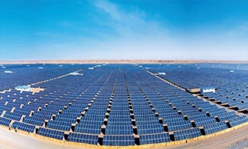 Trang trại quang năng lớn nhất Trung Quốc