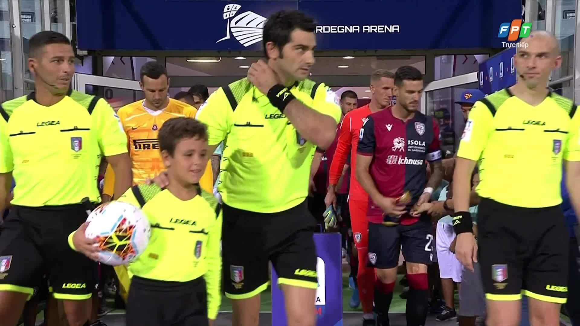 Cagliari 1-2 Inter Milan
