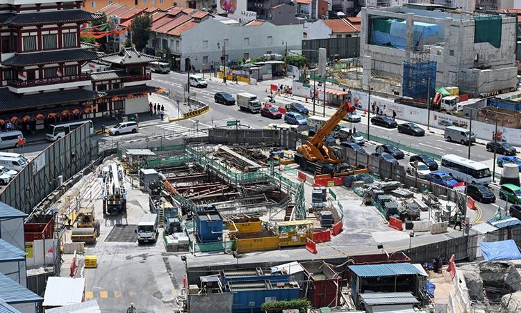 Singapore muốn ngầm hóa thành phố