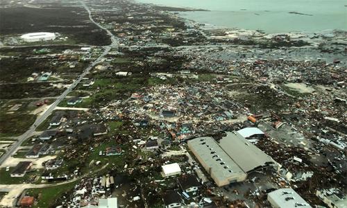 Bahamas tan hoang sau bão Dorian