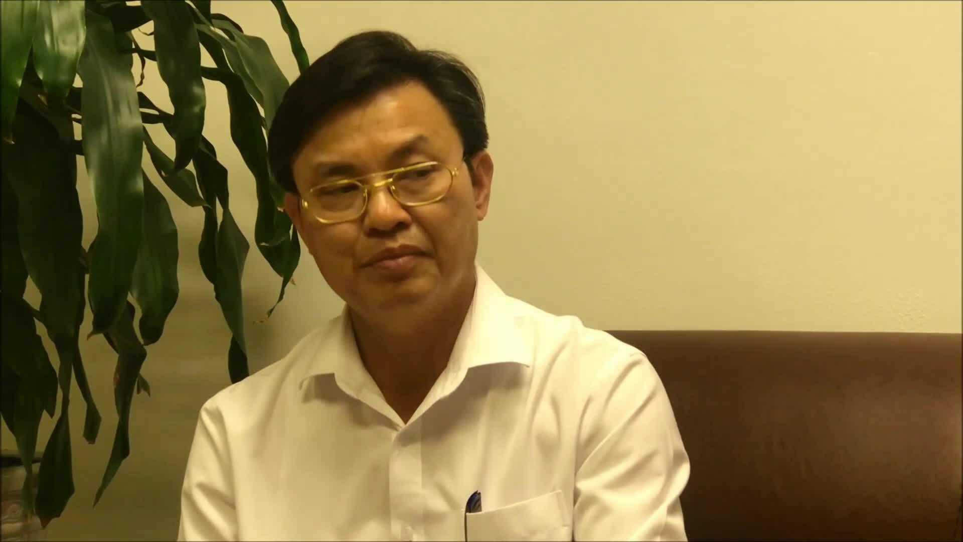 Clip ông Hoàng Văn Thức Thức nói về phương pháp quan trắc