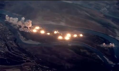 Không quân Mỹ trút 36 tấn bom đạn xuống đảo nhỏ