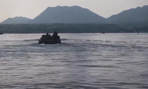 Mỹ diễn tập đổ bộ chiếm đảo Thái Bình Dương