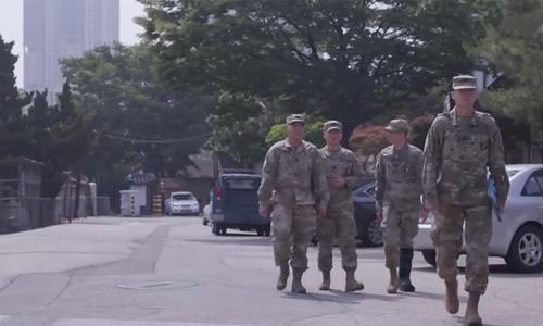 Căn cứ Mỹ giữa Seoul trước giờ đóng cửa