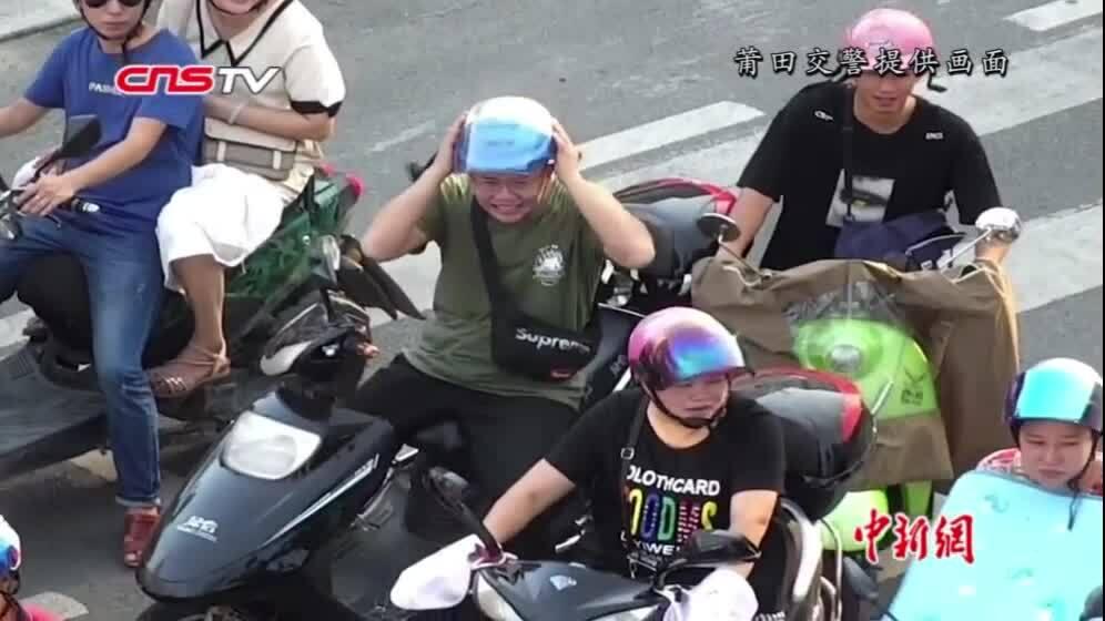 Cảnh sát dùng flycam nhắc người vi phạm từ trên cao