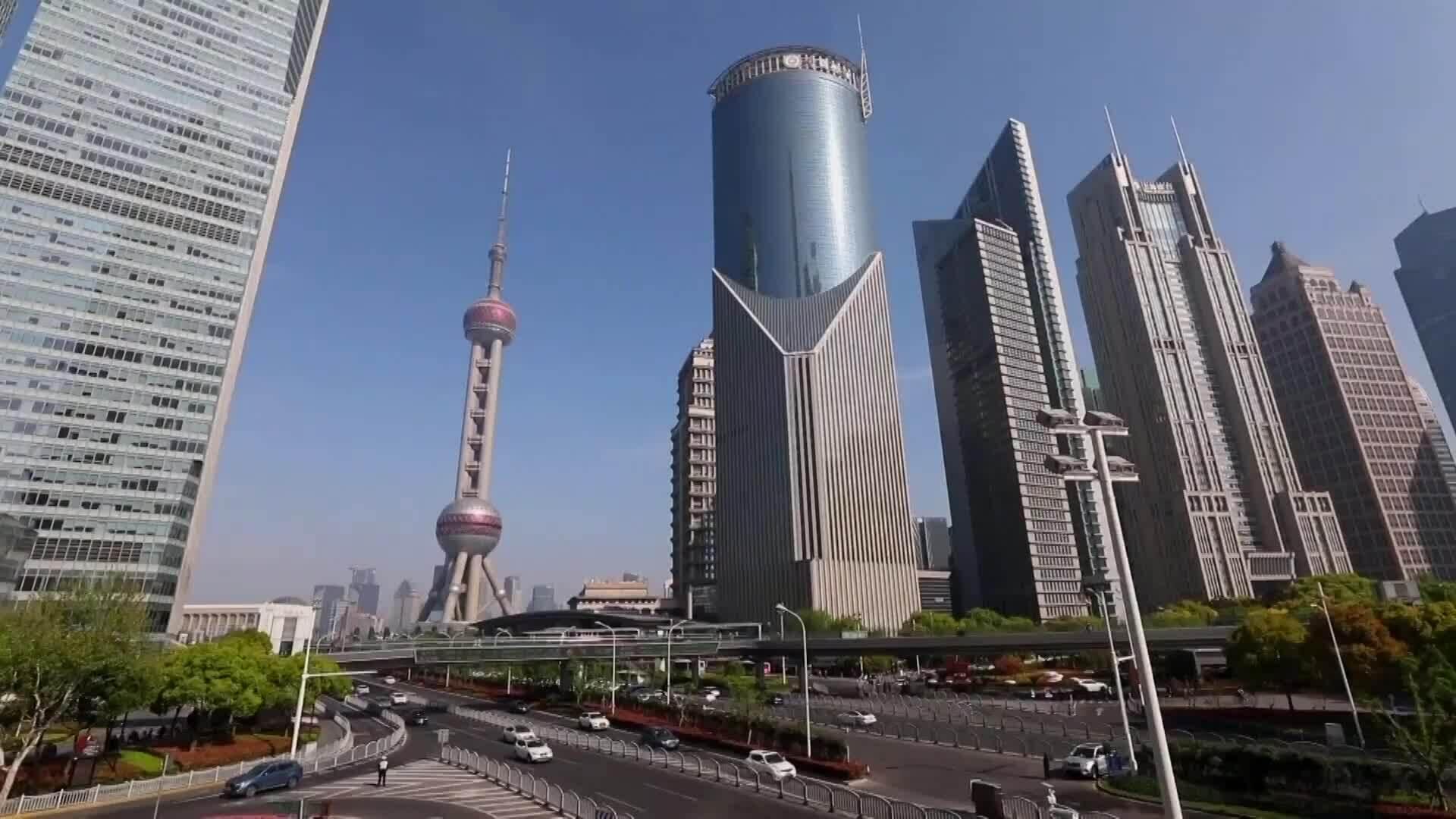 Vùng mở rộng trong khu thương mại tự do Thượng Hải