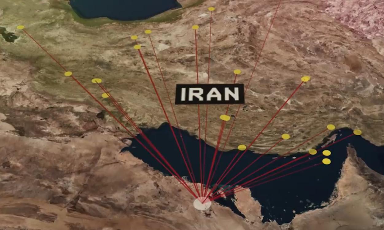 Tên lửa Iran đe dọa các cơ sở chiến lược của Arab Saudi