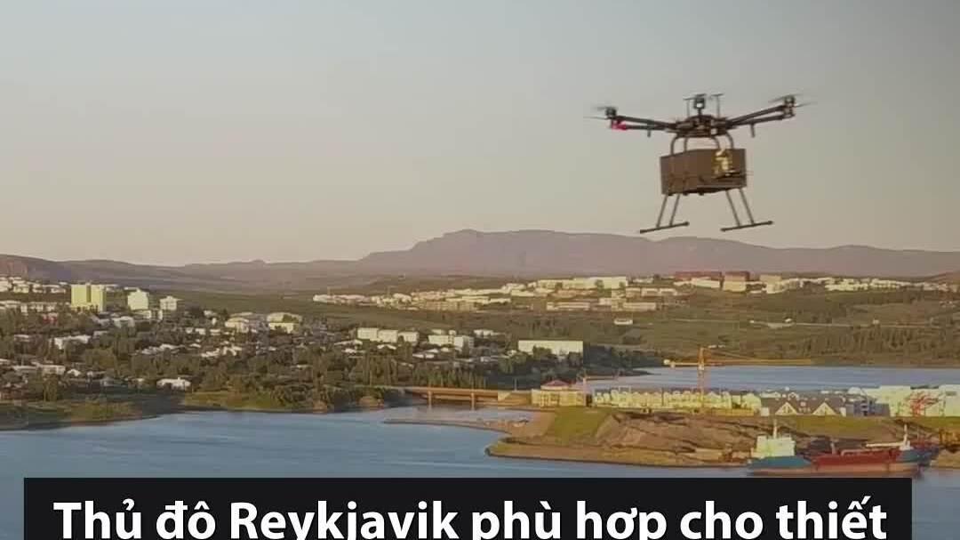 Dịch vụ vận chuyển nhanh đồ ăn bằng drone