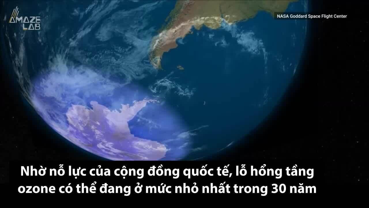 Tầng ozone có thể hồi phục hoàn toàn trong vài chục năm