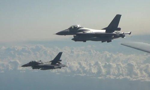 Tiêm kích NATO dàn hàng chặn oanh tạc cơ Nga