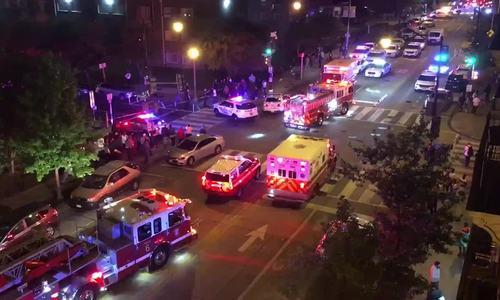 Nhiều người bị bắn trên đường phố thủ đô Mỹ