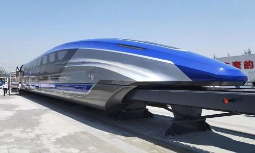 Cấu tạo tàu đệm từ tốc độ 600 km/h của Trung Quốc