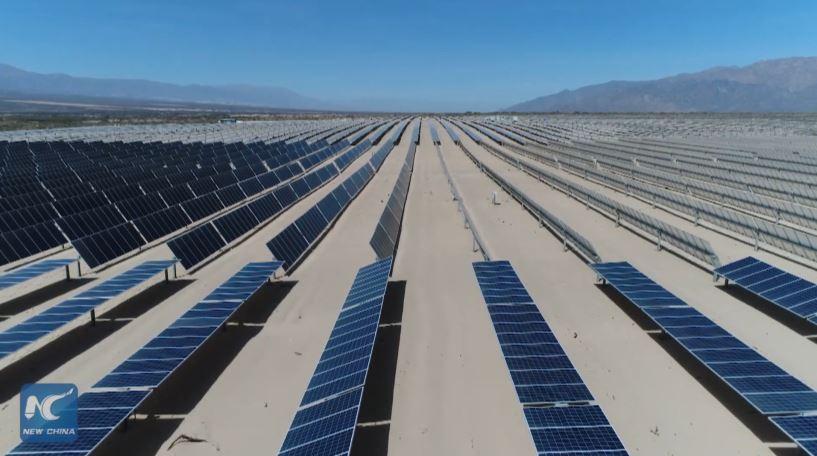 Argentina xây trại quang điện chứa 290.000 tấm pin mặt trời