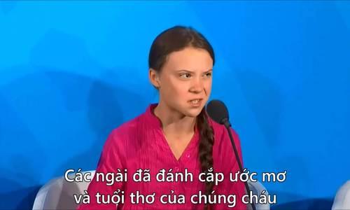 Nhà hoạt động môi trường 16 tuổi kiện 5 nền kinh tế lớn