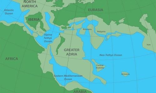 Phát hiện lục địa thứ 8 ẩn sâu 1.500 km dưới châu Ân