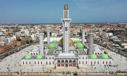 Nhờ thờ Hồi giáo lớn nhất Tây Phi sức chứa 30.000 người