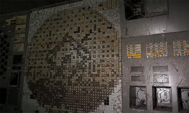 Phòng điều khiển nơi xảy ra thảm họa Chernobyl