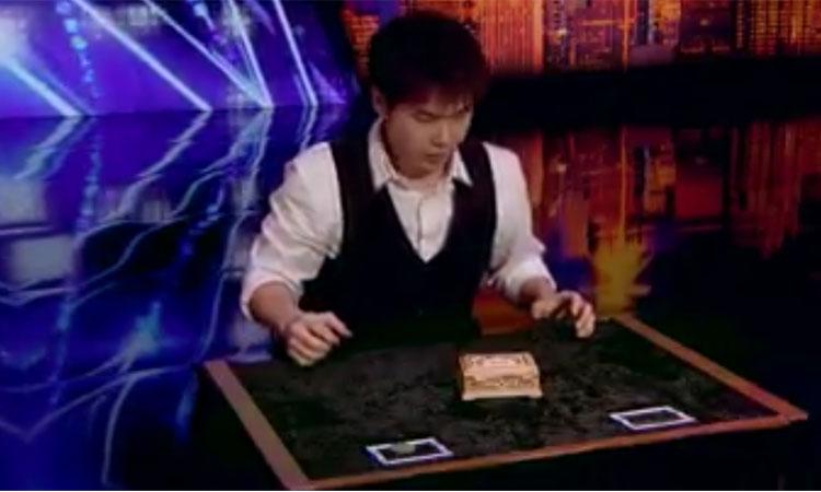 Chàng trai có đôi tay phép thuật khiến trường quay phát cuồng