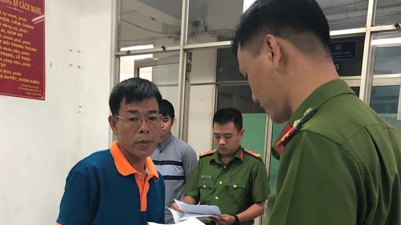 Cảnh sát bắt giam Phó chánh án quận 4