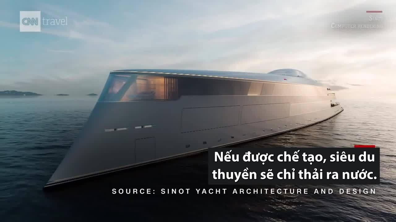 Siêu du thuyền dài 112 m chạy bằng hydro
