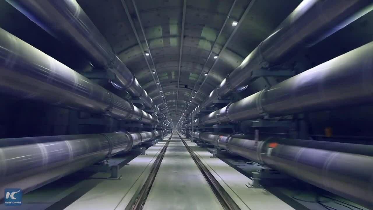 Đường hầm tải điện siêu cao thế đầu tiên dưới lòng sông