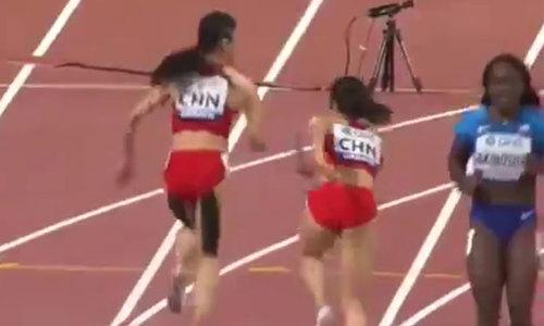 Ngày thi đấu 'thảm họa' của hai nữ vận động viên Trung Quốc