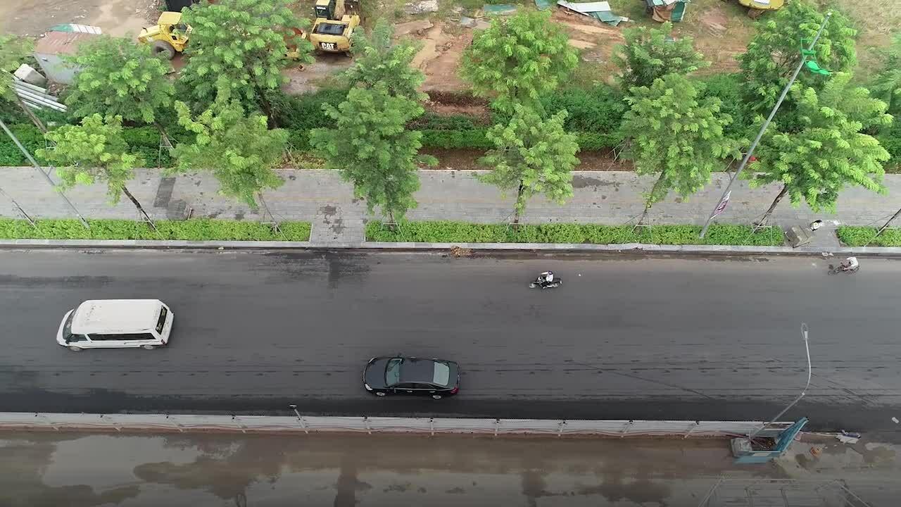 Đường vành đai 3 dưới thấp Mai Dịch – Nam Thăng Long trước ngày thông xe