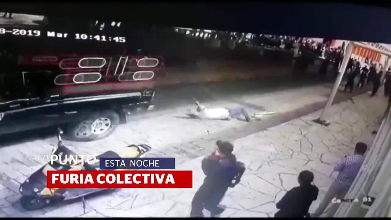 Thị trưởng bị trói vào xe tải, kéo lê dọc phố