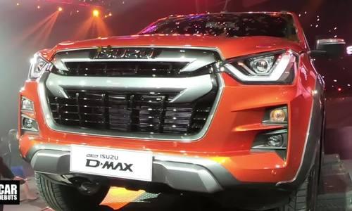 Isuzu D-Max - xe bán tải thế hệ mới trình làng