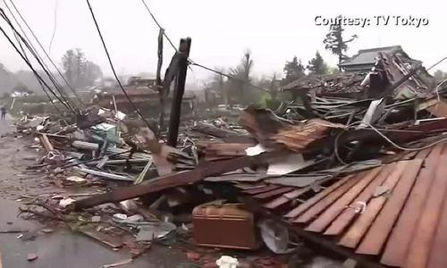Bão Hagibis tàn phá Nhật Bản