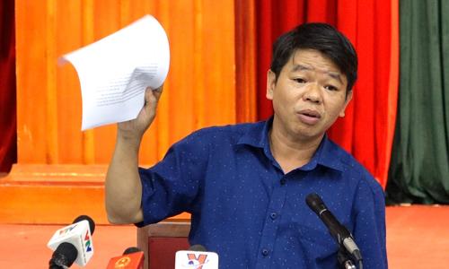 Tổng giám đốc nước sông Đà không chắc xử lý được ô nhiễm nước