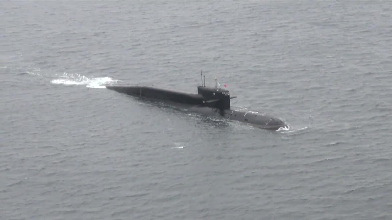Chiến hạm, tàu ngầm Nga phóng hàng loạt tên lửa