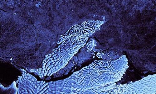 Núi băng trôi 260 km2 tách khỏi Nam Cực