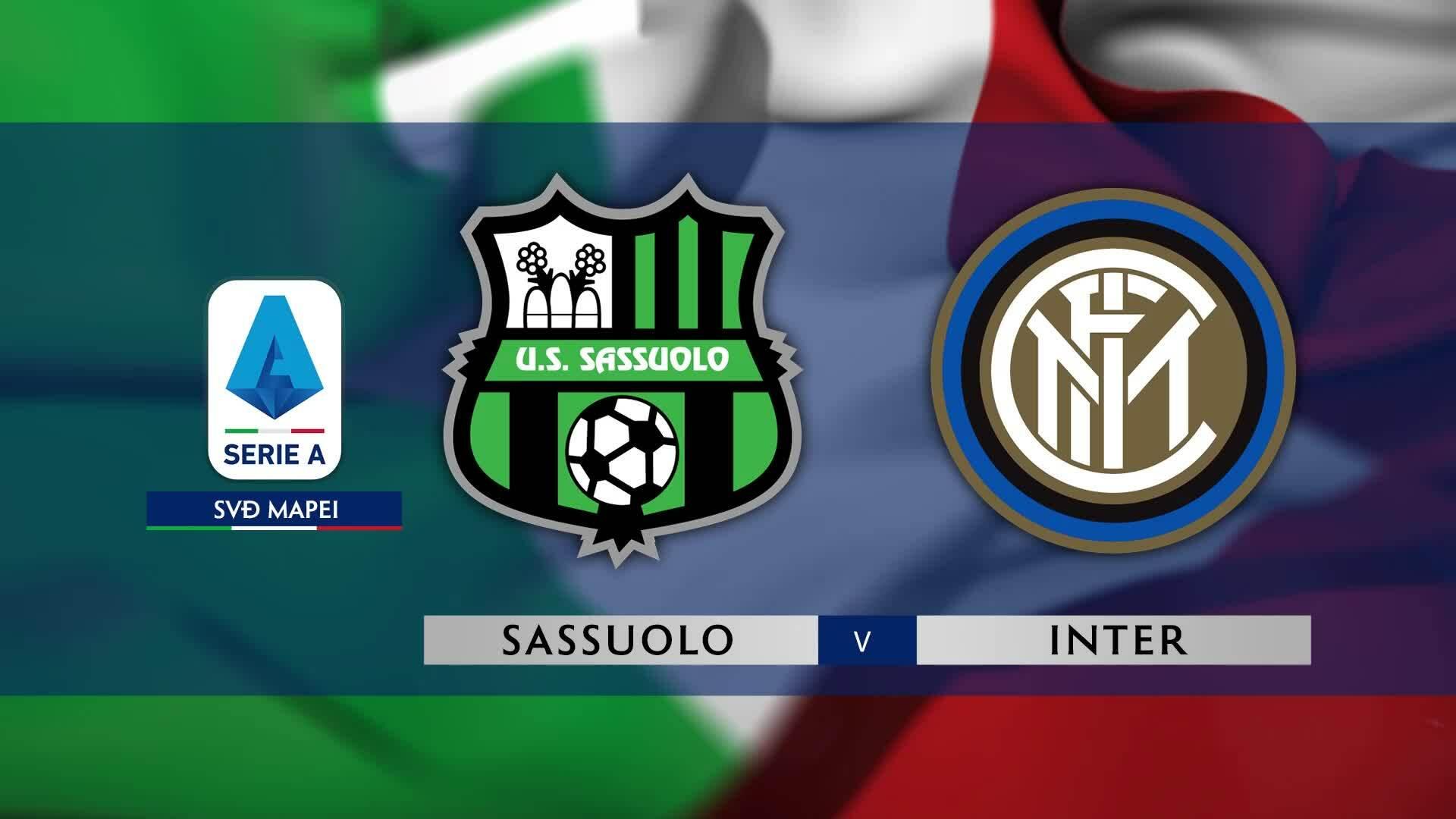Sassuolo 3-4 Inter Milan