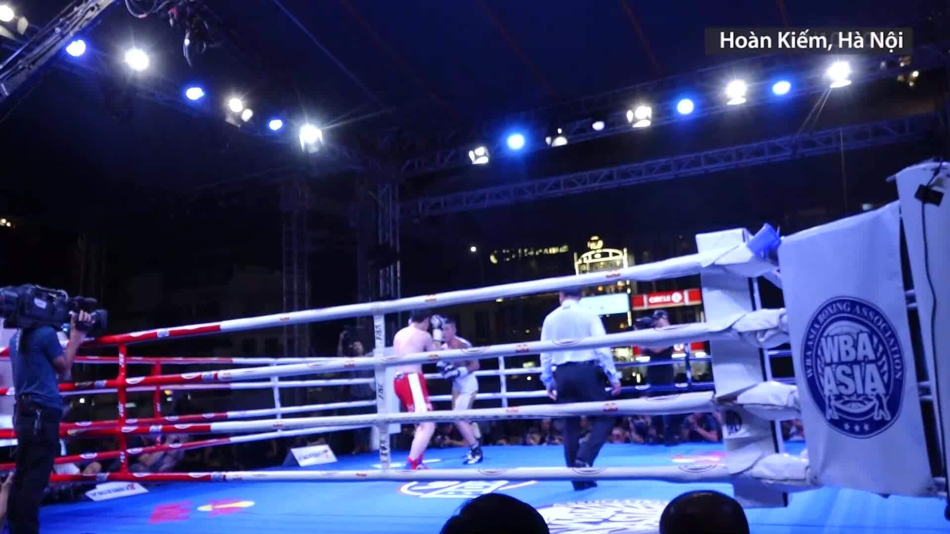 Võ sĩ Boxing Việt Nam giành đai WBA Đông Á