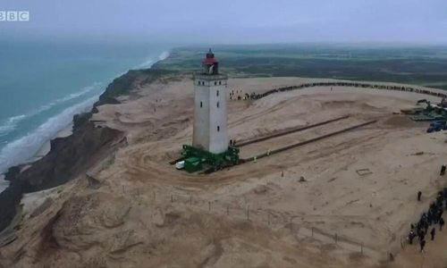 Di dời ngọn hải đăng 720 tấn