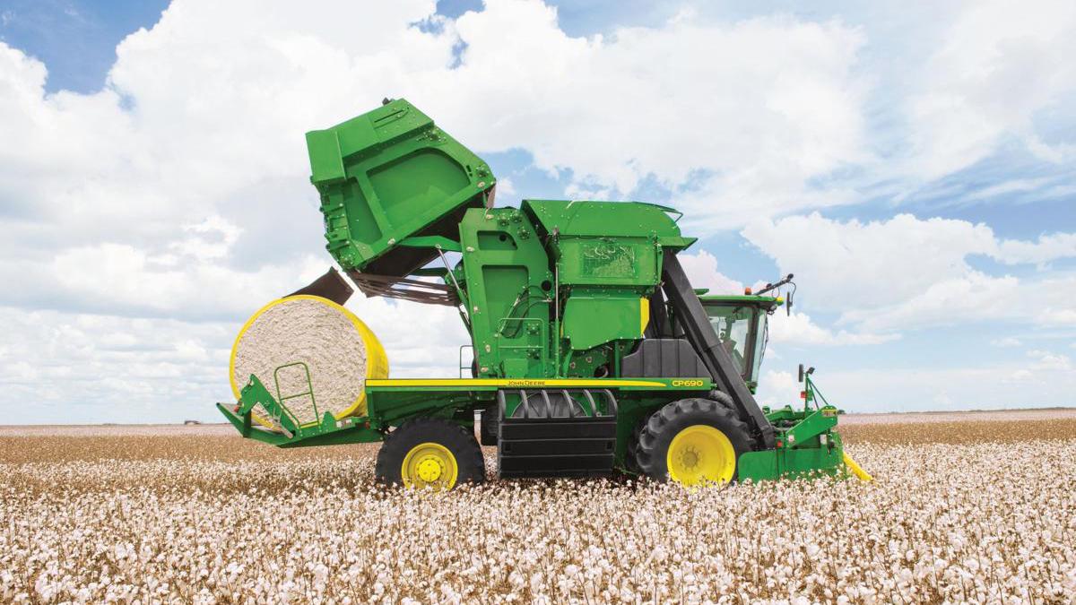 Máy thu hoạch sợi bông tiên tiến nhất thế giới