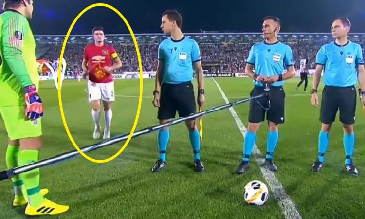 Maguire quên thủ tục khi lần đầu làm đội trưởng Man Utd