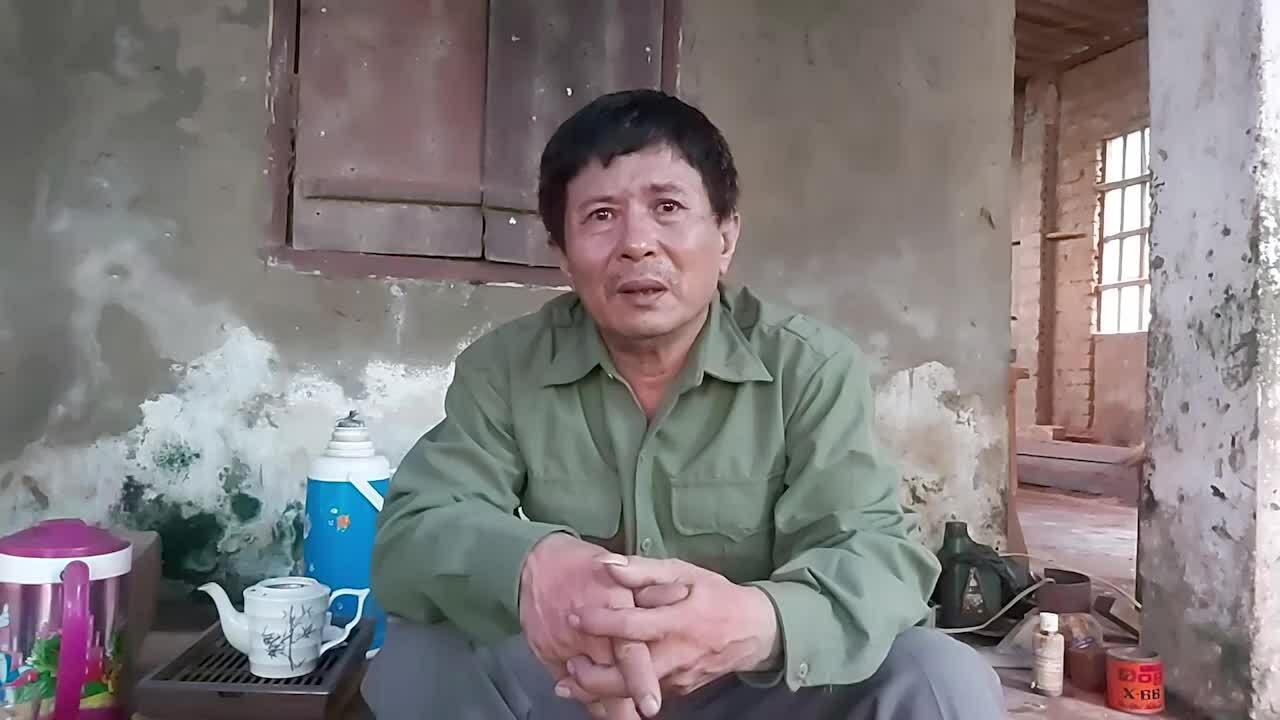 Ông Lê Tuân nói về việc con trai mất tích. Video: Nguyễn Hải