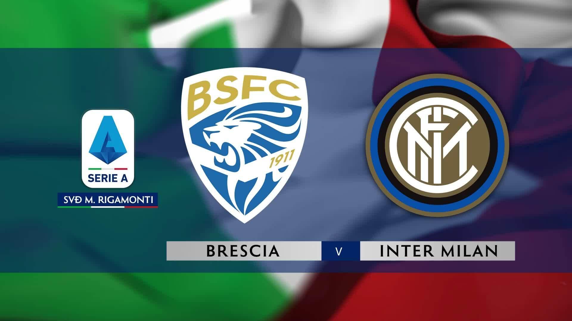 Brescia 1-2 Inter Milan