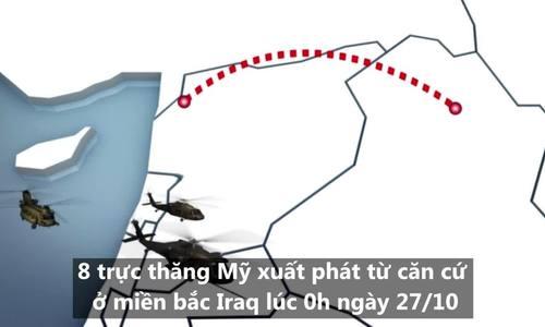Cuộc đột kích hang ổ thủ lĩnh tối cao IS