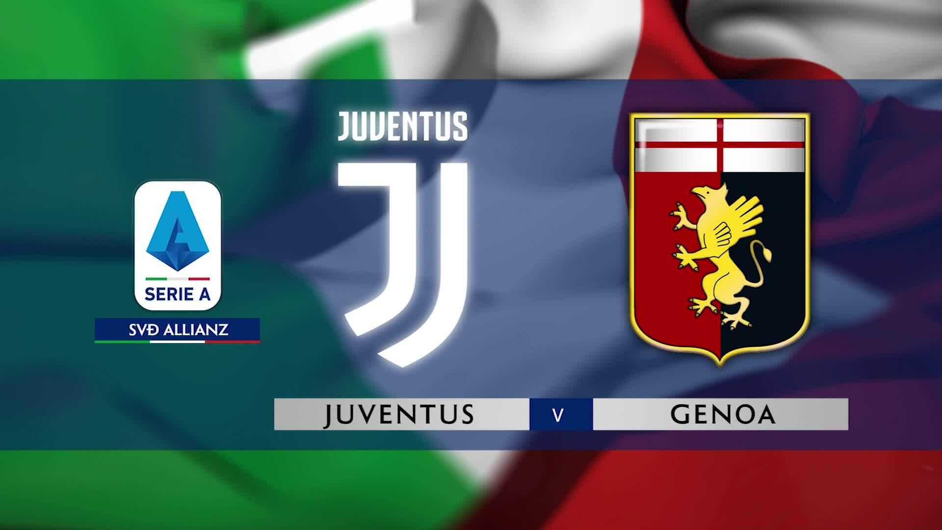 Juventus 2-1 Genoa