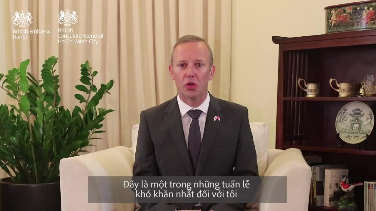 Đại sứ Anh tại Việt Nam chia buồn về vụ 39 người chết